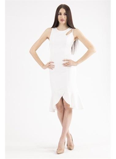 Belamore  Abiye & Mezuniyet Elbisesi Ekru